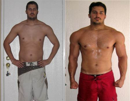 Nick's Results | Get Ripped At Home