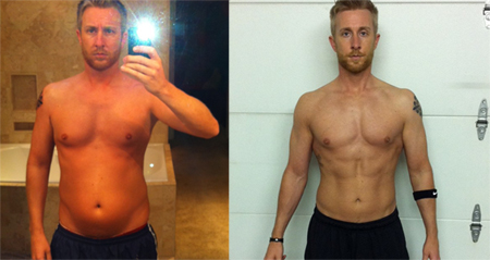 Keith's P90X Results | Get Ripped - 103.2KB