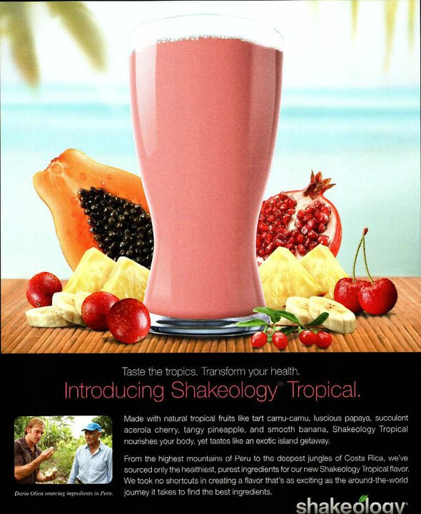 New Tropical Shakeology Impressions