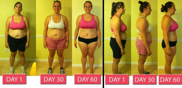 Kathryn's Insanity Results!