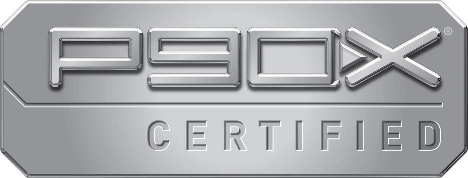 Officially P90X Certified!