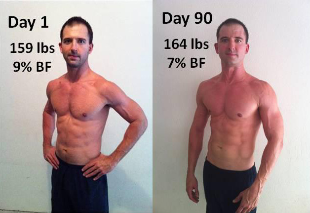 Devlin Gains Mass and Definition with P90X2!