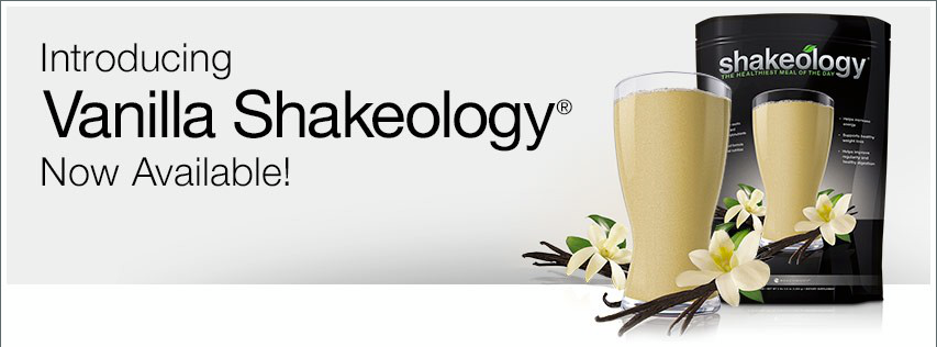 New Vanilla Shakeology!