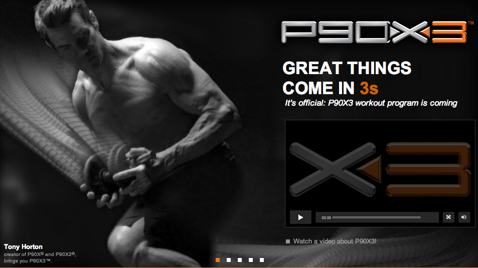 P90X3 Preview & Release date